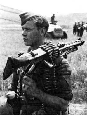 The MG-42 Machine-gun 1942